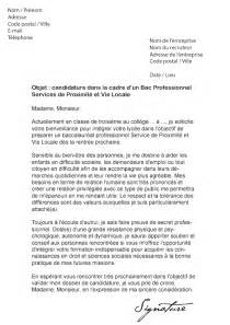 Exemple De Lettre De Motivation Coordinateur Administratif Lettre De Motivation Bac Pro Spvl Mod 232 Le De Lettre