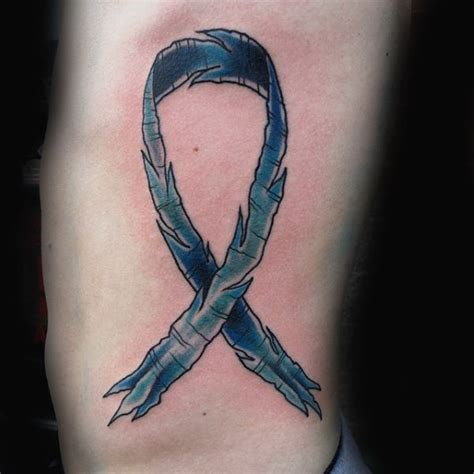 cancer tattoo for men 70 cancer ribbon tattoos for supportive design ideas