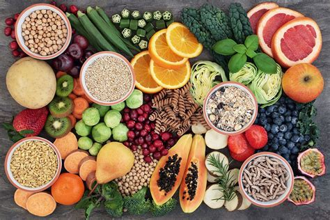 alimentos fibra alimentos ricos en fibra viviendosanos