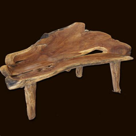 teak root bench teak root furniture accessories