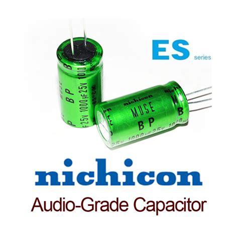 nichicon es capacitors nichicon es muse bi polar non polar 0 47uf 50v