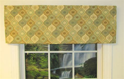 How To Make A Tailored Valance valances solid patterned ruffled