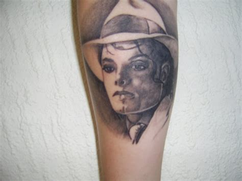 mj tattoo mj michael jackson photo 12434519 fanpop