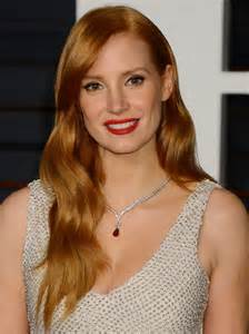 Chastain Vanity Fair Oscar 2015 Chastain 2015 Vanity Fair Oscar In