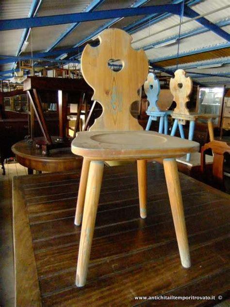 sedie tirolesi antichit 224 il tempo ritrovato antiquariato e restauro