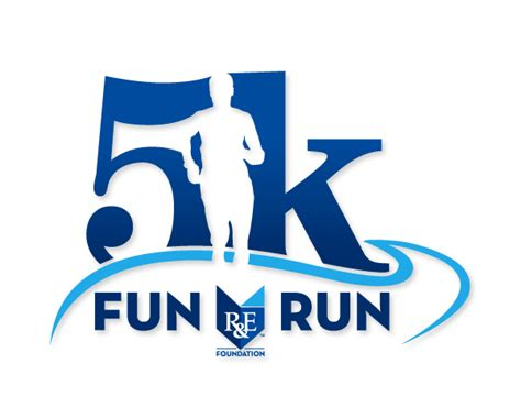 design a running logo fun run