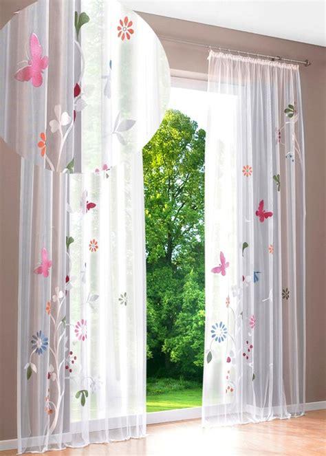 Gardinen Mit Schmetterlingen