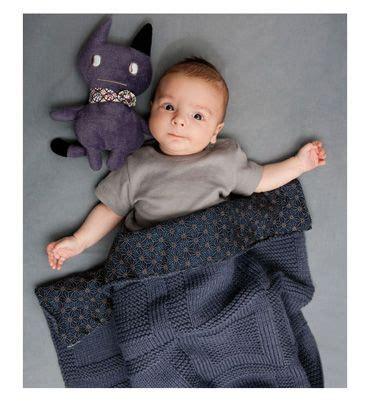 Modele De Couverture Bébé à Tricoter