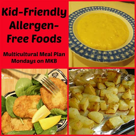 allergen free food kid friendly allergen free foods