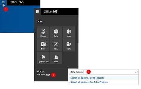 Office 365 Zoho Office 365 Integration Zoho Projects Help