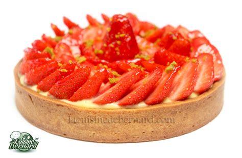 cuisine aux fraises la cuisine de bernard tarte aux fraises