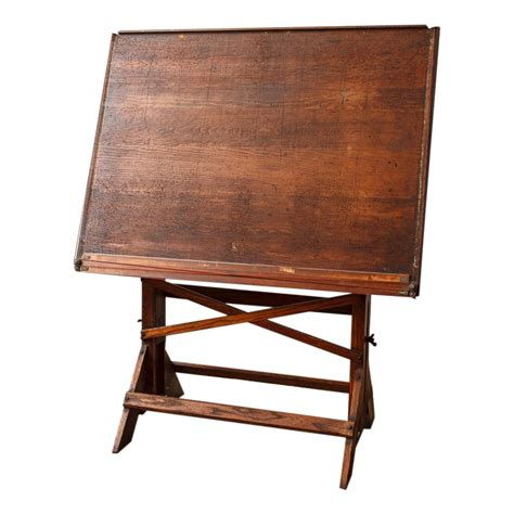 Antique Architect S Drafting Table Chairish Architects Drafting Table