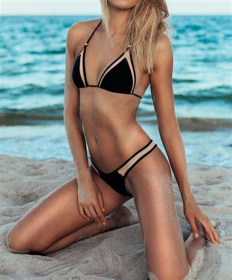 swimwear womens swimsuits bathing suits bikinis 2015 strappy push up mesh bikini brazilian swimsuits swimwear