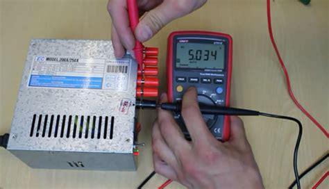 Multitester Bekas cara mengubah power supply bekas pc menjadi adaptor