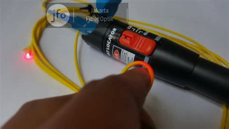 Senter Laser Mainan jual visual fault locator vfl senter laser kabel fiber