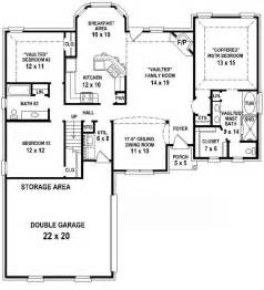5 Bedroom 3 1 2 Bath Floor Plans by 654350 3 Bedroom 2 Bath House Plan House Plans Floor