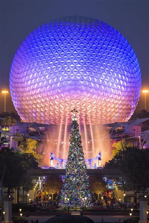 human christmas tree epcot photos top 11 trees not to miss at walt disney world inside the magic