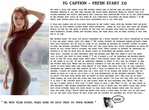 photo caption for the new year tg caption a fresh start 2 0 by ugu deviant 2 on deviantart