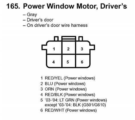 6 pin power window switch wiring diagram wiring diagram