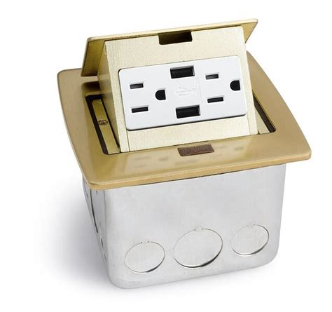 Countertop Receptacle by Lew Electric Pufp Ct 2usb Countertop Pop Up Box W 2 Usb