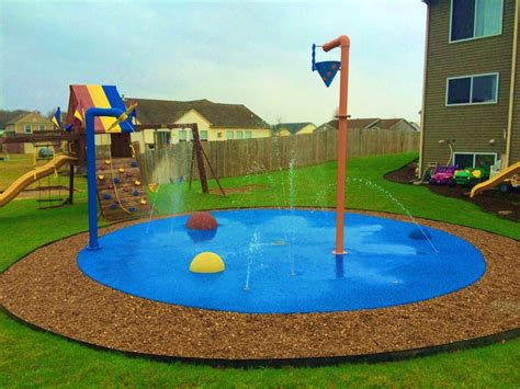 backyard splash park 25 best ideas about backyard splash pad on pinterest splash water park splash