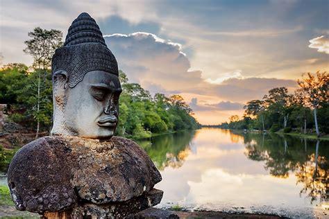 top  tourist attractions  cambodia worldatlascom