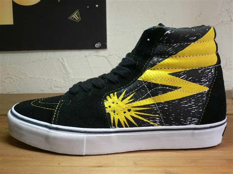 Sepatu Vans Bad Brains vans bad brains blackxyellow feelforce