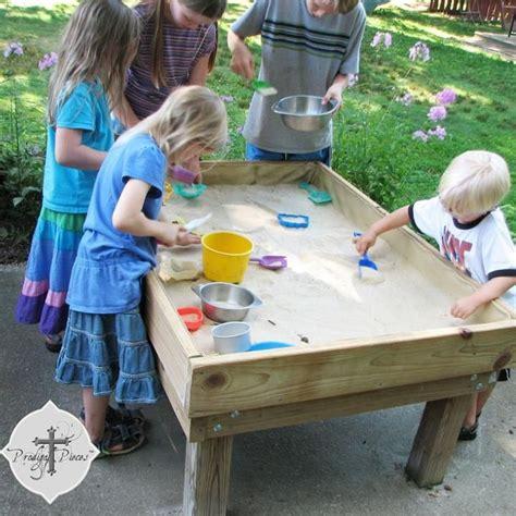 Sand Table Ideas Backyard Diy Style 1 Sand Table Sandbox Pallet Sandbox And Pallets