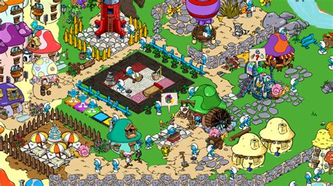 smurfs village mod unlimited coins berry v1 3 2 apk filechoco free gratis download apk android smurfs village v1 3 0a
