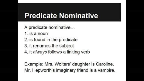 Predicate Nominative Worksheet by Predicate Nominative And Predicate Adjective Worksheets