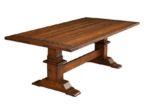 trestle dining room table