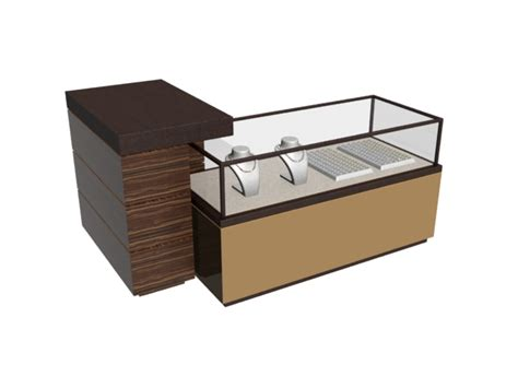 Reception Desk With Display Jewelry Display Cabinet And Reception Desk 3d Model 3dmax Files Free Modeling 7556 On