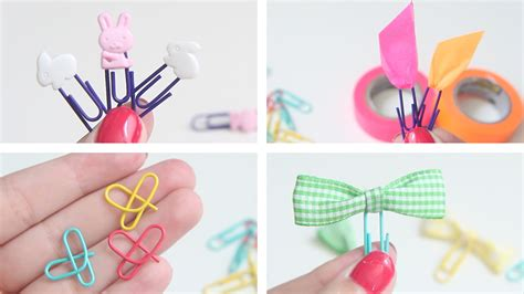 How To Make A Paper Clip Bookmark - paperclip bookmarks 4 ways inexpensive back to school