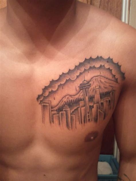 seattle tattoo removal seattle skyline i like the shading on the