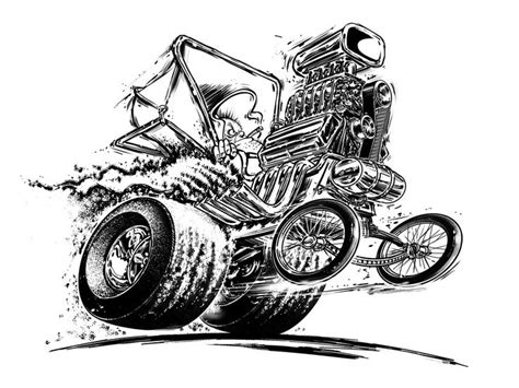 coloring pages rat rods 47 best hot rod coloring images on pinterest colouring
