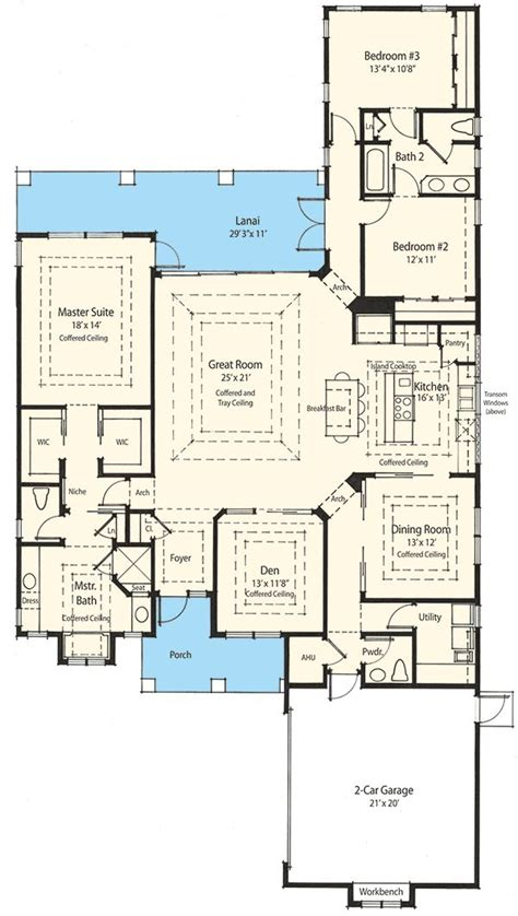 Narrow Lot Ranch House Plans by 1000 Ideas About Narrow Lot House Plans On Pinterest