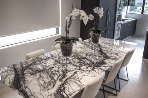black and white marble dining table with 8 large 8 seater marble dining table sydney design world