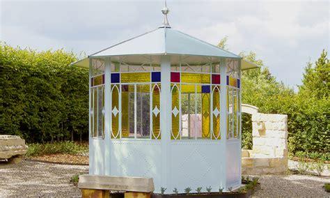 metall pavillon rund nostalgische metall pavillons udo noller fichtenberg