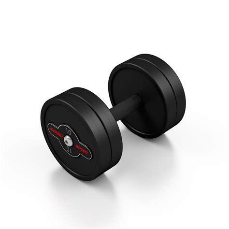rubber stede rubber sts steel rubber dumbbell 10 kg marbo sport b2b marbo