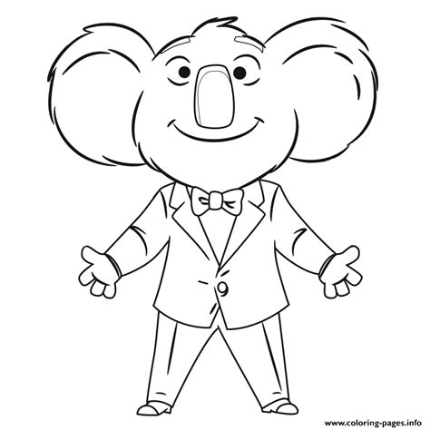 printable coloring pages cing sing movie coloring pages printable
