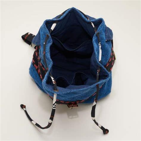 Backpack Tribal Blur blue tribal backpack world market