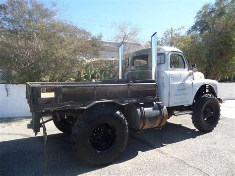 no dodge 1949 dodge truck cummins diesel power 4x4 rat rod tow