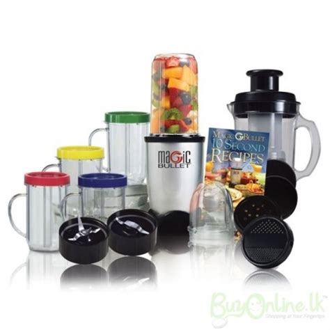 magic bullet magic bullet blender food processor 21 pcs set