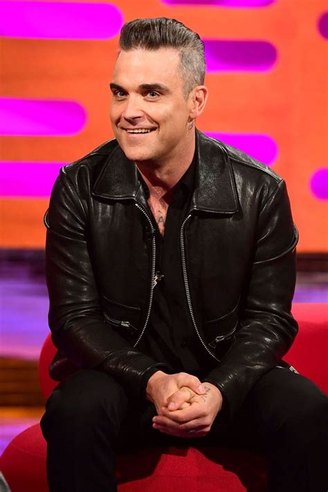 robbie williams supreme robbie williams shocks fans by telling lewd tales in