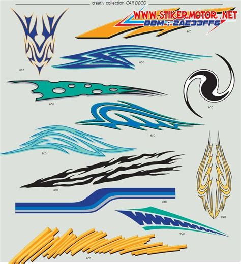Sticker Striping Motor Stiker Yamaha Jupiter Z1 Manchester Spec A 2 car decal car branding mobil branding stikermotor net