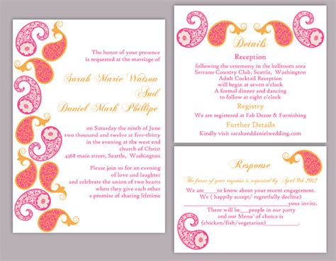 Indian Wedding Invitation Card Template Microsoft Word by Indian Wedding Invitation Card Template Microsoft Word