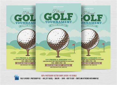 golf tournament program template 15 sports event flyers design trends premium psd