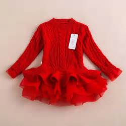 Dresses xmas red color toddler girls clothing from reliable clothing