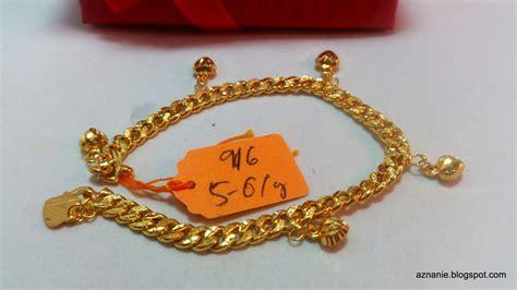 Harga Gelang harga gelang tangan emas 916 terkini