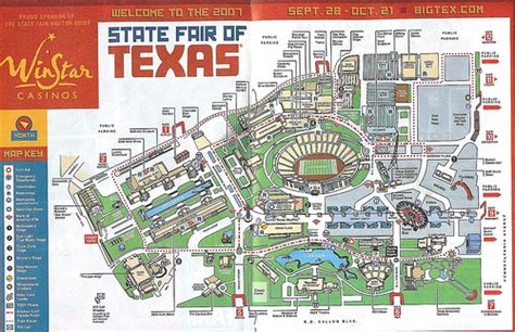 state fair of texas map state fair map flickr photo